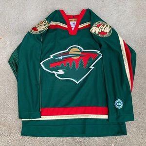 Minnesota Wild Hockey Koho Jersey Medium